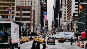 Bezige NYC Royalty-vrije Stock Foto