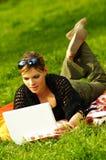 Bezige Picknick Royalty-vrije Stock Afbeelding