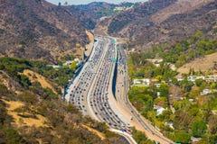 Bezige snelweg Royalty-vrije Stock Afbeeldingen
