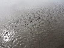 Bezinning over zand stock fotografie