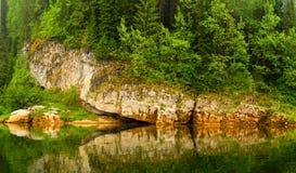 Bezinning in water Royalty-vrije Stock Foto's