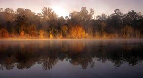 Bezinningen in de rivier Royalty-vrije Stock Afbeelding