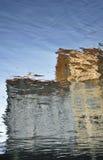 Bezinningen in het Water Stock Afbeeldingen