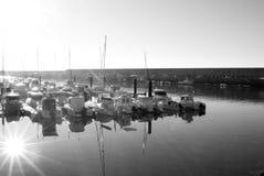Bezinningen op een zonnige dag stock fotografie