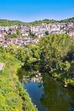 Bezinningen over Veliko Tarnovo stock fotografie