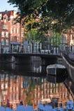 Bezinningen van Amsterdam Royalty-vrije Stock Foto's