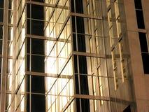 Bezinningen van de binnenstad 6 Stock Foto
