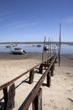 Bezirk der Auster Claouey stockbild
