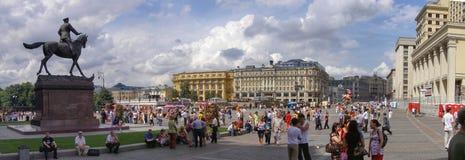 Bezirk des Roten Platzes, Moskau, Russland stockbild