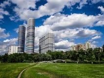 Bezirk in Moskau Lizenzfreie Stockbilder
