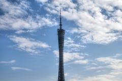 BEZIRK, PROVINZ GUANGDONG, CHINA - CIRCA IM JANUAR 2017: Der Bezirk-Turm stockfoto