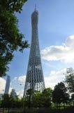 Bezirk-Turm Guangzhou China Lizenzfreie Stockfotografie