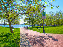 Bezirk-Ufergegend-Park Lizenzfreie Stockfotografie