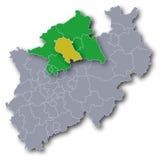 Bezirk von Coesfeld Stockfotos
