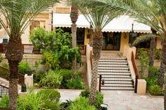 Bezirk von Dubai, Madinat Jumeirah Lizenzfreies Stockfoto