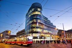 Bezirk Zlaty Andel, Smichov, Prag, Tschechische Republik Lizenzfreie Stockfotografie
