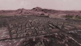 Bezirk zwischen Berg ab und zu vektor abbildung