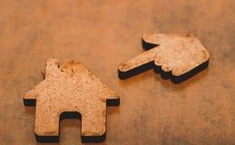 Bezitsinvestering en het financiële concept van de huishypotheek stock foto's