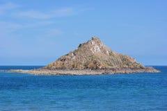 bezludna wyspa Fotografia Royalty Free