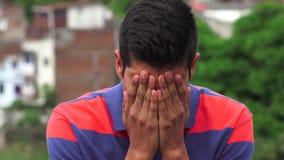 Beznadziejności stroskania zmartwienie I depresja obrazy royalty free