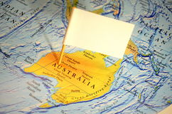 Bezoek Australië Royalty-vrije Stock Afbeelding