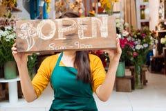 Bezoek mijn winkel! Royalty-vrije Stock Foto