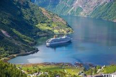 Bezoek Noorwegen Stock Foto's