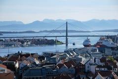 Bezoek van Stavanger Stock Foto's