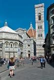 Bezoekend Florence royalty-vrije stock afbeeldingen