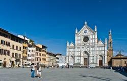 Bezoekend Florence stock foto's