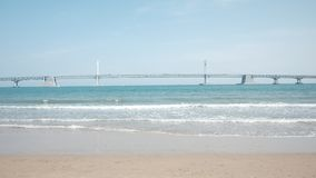 Bezpłatna przestrzeń dla teksta, A plaży, pięknej i leisurely zdjęcie stock