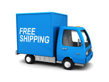 Bezpłatna wysyłki ciężarówka Fotografia Royalty Free