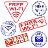 Bezpłatni Wifi znaczki Fotografia Royalty Free