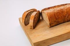 Bezpłatny cały zbożowy żyto chleb pokrajać Glutenu bezpłatny domowej roboty chleb zdrowa żywność obrazy royalty free