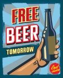 Bezpłatny piwo jutro royalty ilustracja