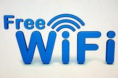 Bezpłatny Wifi znak zdjęcie stock