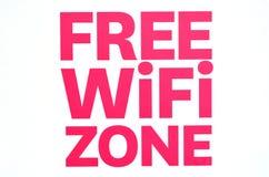 Bezpłatna WiFi strefa Obraz Royalty Free