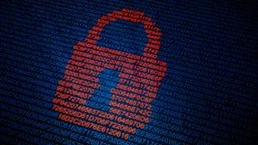Bezpieczeństwa komputerowego pojęcie Zdjęcie Stock