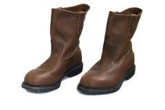 bezpieczeństwa przemysłowego buty Fotografia Royalty Free