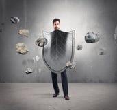 Bezpieczeństwo i ochrona w biznesie zdjęcia stock