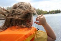 bezpieczeństwo na łodzi Fotografia Royalty Free