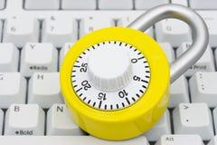 bezpieczeństwo internetu Zdjęcie Stock