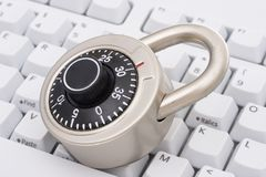 bezpieczeństwo internetu Zdjęcia Stock