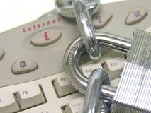 bezpieczeństwo internetu Zdjęcia Royalty Free
