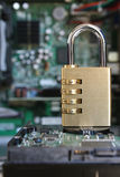 bezpieczeństwo komputerowe Zdjęcia Stock