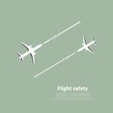 Bezpieczeństwo lotnictwa Zdjęcie Royalty Free
