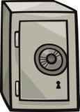 Bezpieczna klamerki sztuki kreskówki ilustracja Obrazy Royalty Free