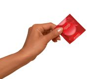 bezpieczna kondom płeć Zdjęcia Stock