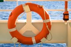 Bezpieczny Pływać statkiem fotografia stock