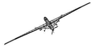 Bezpilotowy Powietrzny pojazd (UAV) Obraz Royalty Free